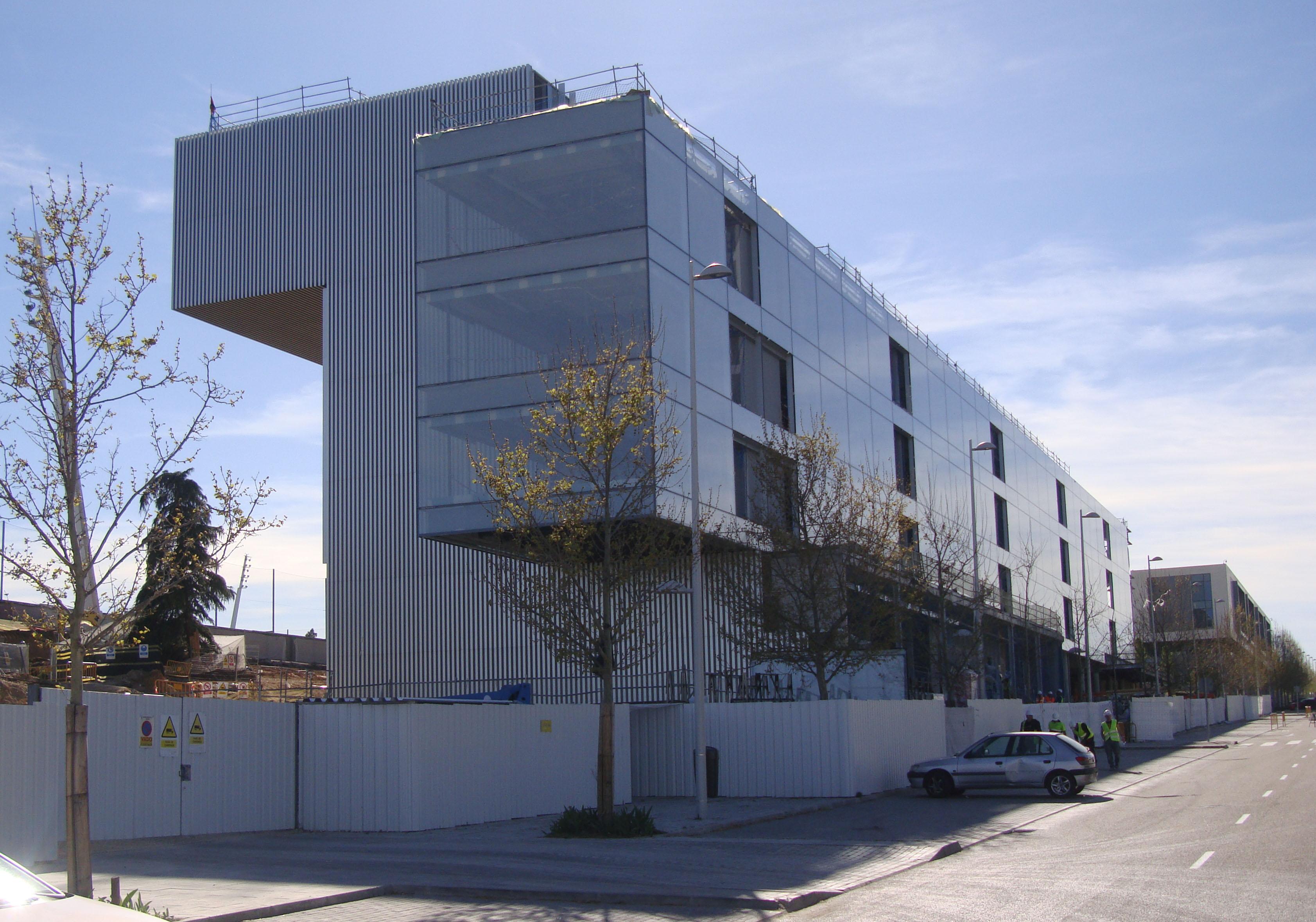 Mucta departamento de construcci n y tecnolog a for Real madrid oficinas telefono